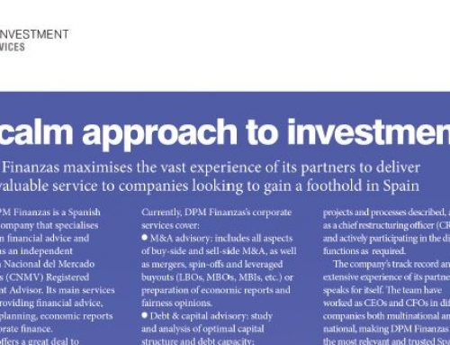 A calm approach to investment