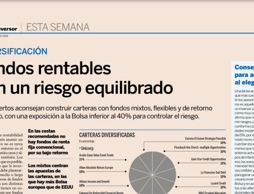 Fondos rentables con un riesgo equilibrado