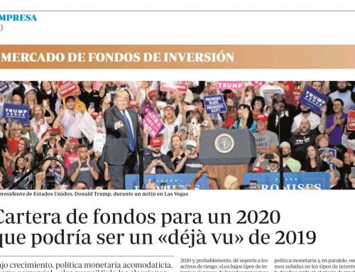 Cartera de fondos para un 2020 que podría ser un déjà vu de 2019