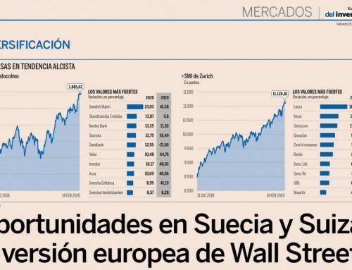 Oportunidades en Suecia y Suiza, la versión europea de Wall Street