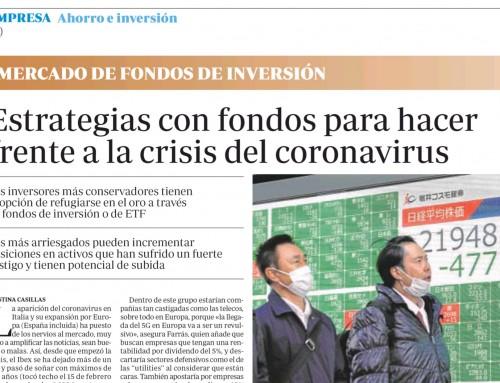 """Se justifican las fuertes caídas por el """"coranovirus"""""""