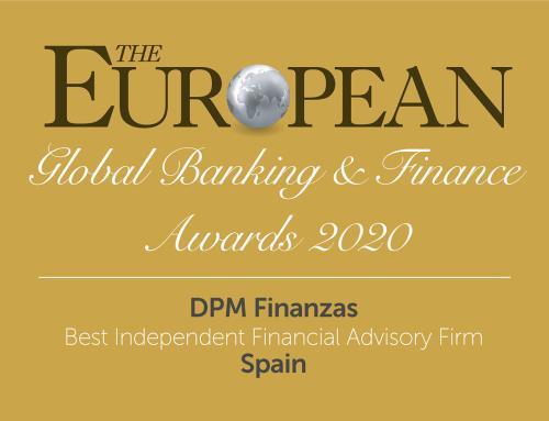 DPM Finanzas premiada por su asesoramiento financiero personalizado e independiente.