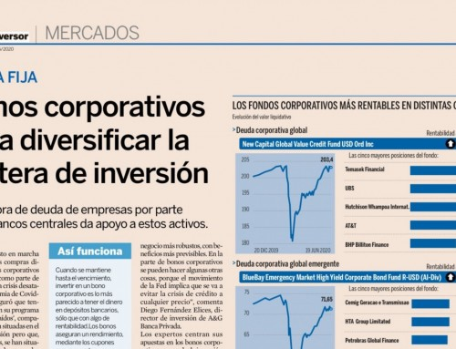 Corporate bonds to diversify the investment portfolio