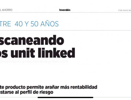 Escaneando los Unit Linked